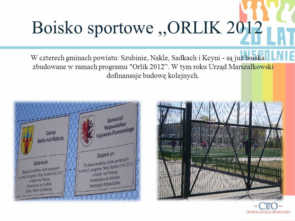 Boisko sportowe ,,ORLIK 2012