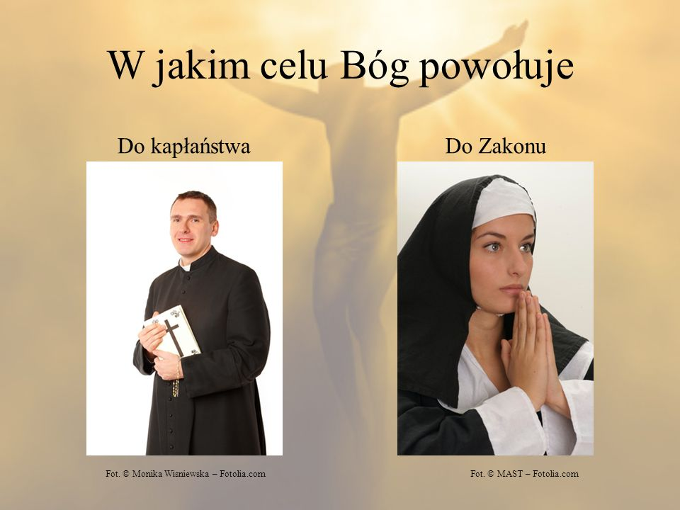 W jakim celu Bóg powołuje