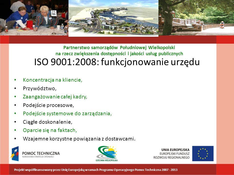 ISO 9001:2008: funkcjonowanie urzędu