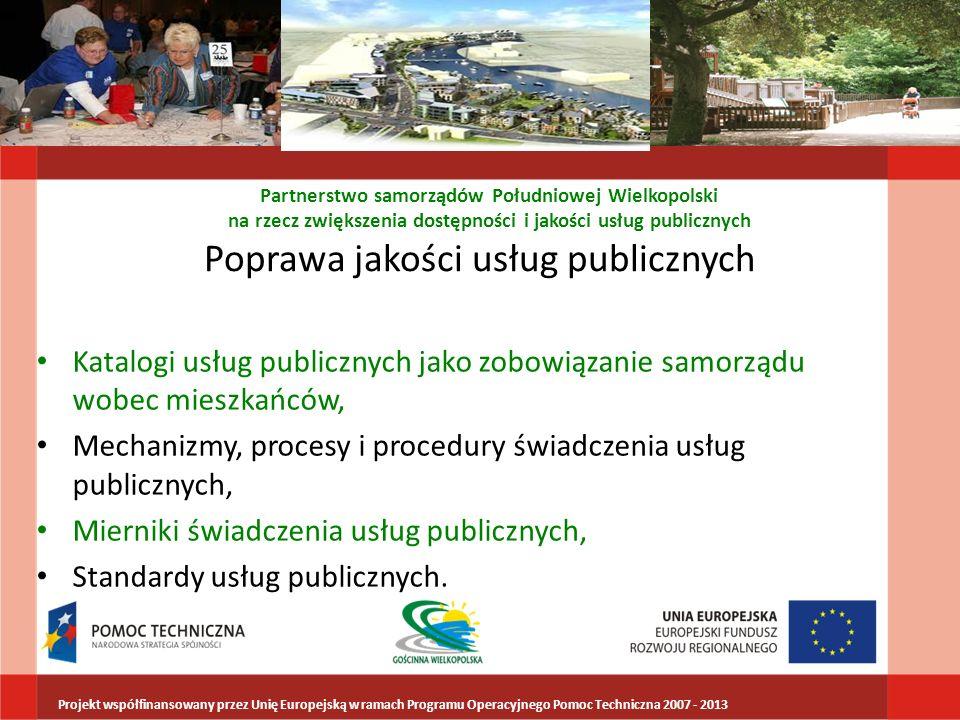 Poprawa jakości usług publicznych