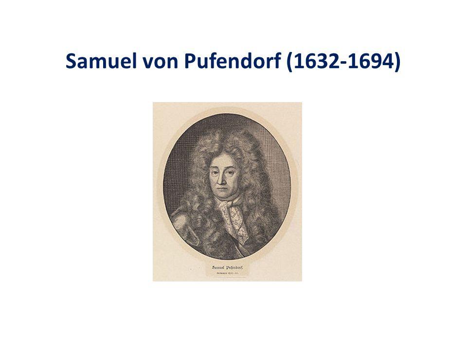Samuel von Pufendorf (1632-1694)