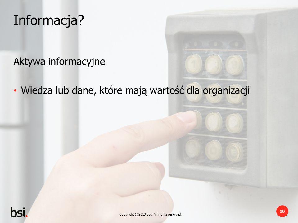 Informacja Aktywa informacyjne