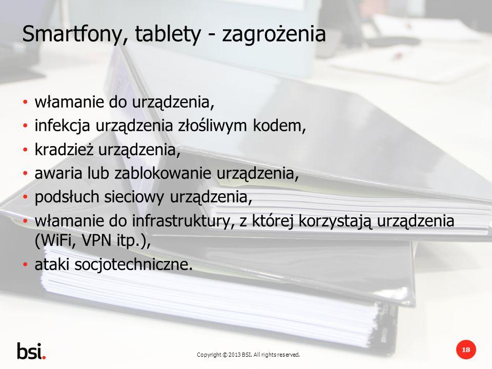 Smartfony, tablety - zagrożenia