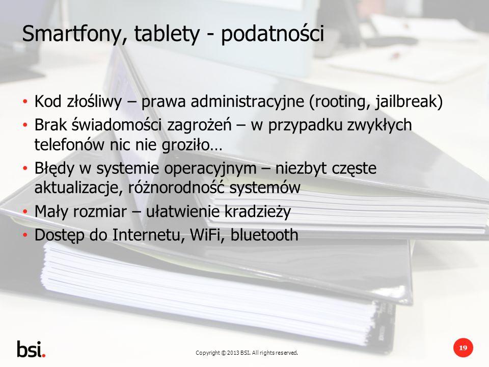 Smartfony, tablety - podatności
