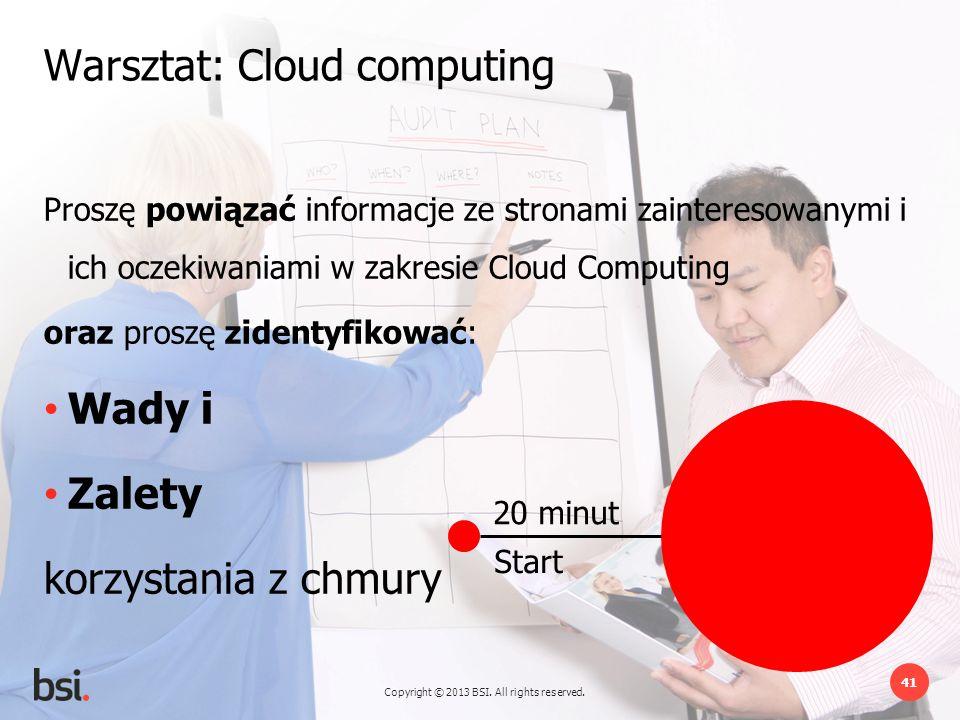 Warsztat: Cloud computing