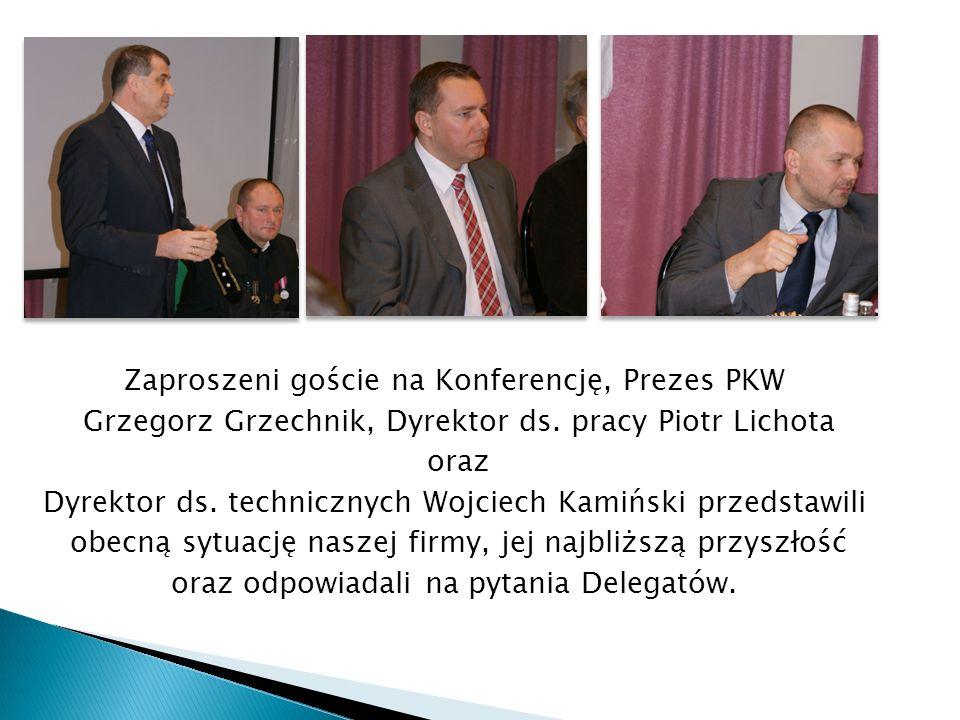 Zaproszeni goście na Konferencję, Prezes PKW