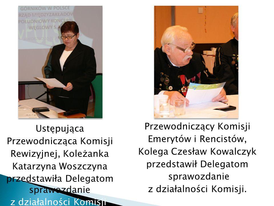 Przewodniczący Komisji Emerytów i Rencistów, Kolega Czesław Kowalczyk