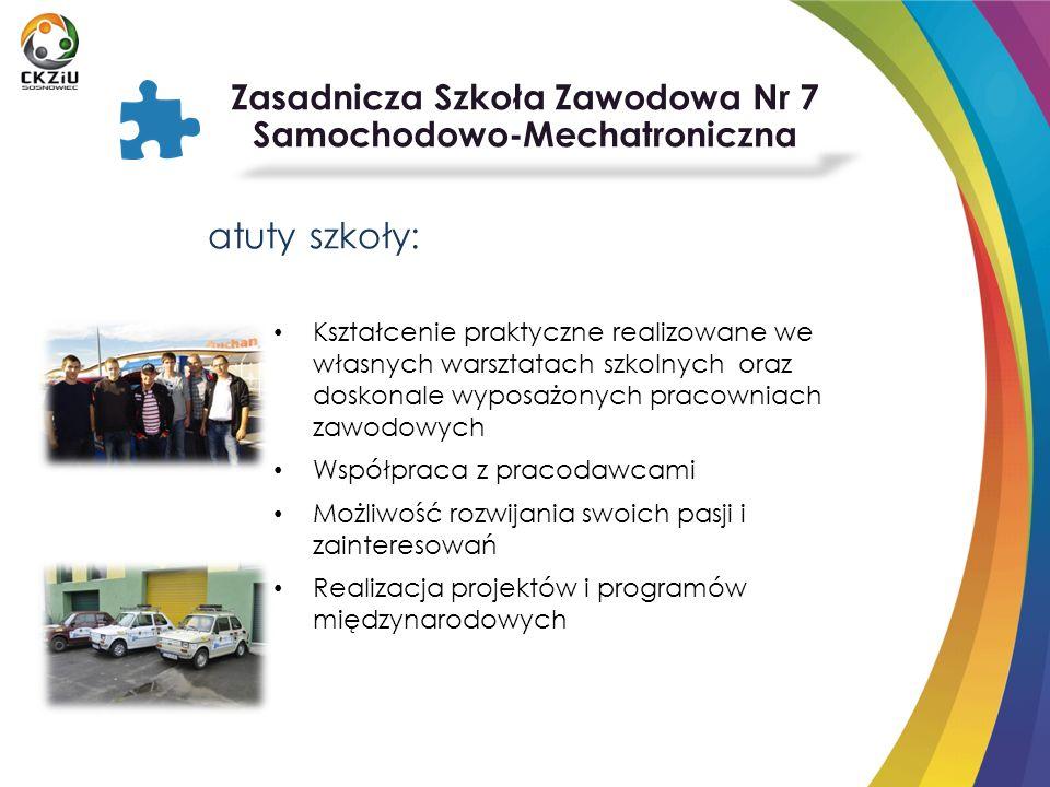 Zasadnicza Szkoła Zawodowa Nr 7 Samochodowo-Mechatroniczna