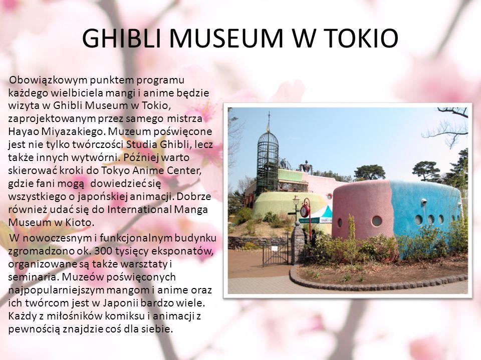GHIBLI MUSEUM W TOKIO