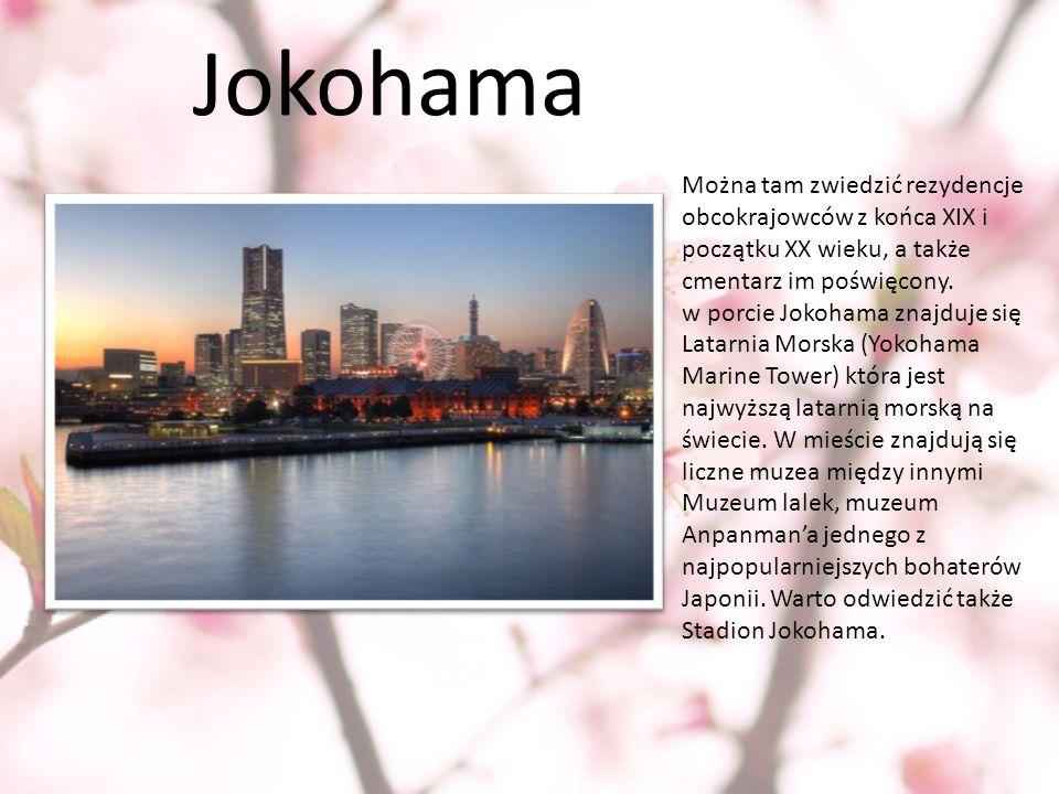 Jokohama Można tam zwiedzić rezydencje obcokrajowców z końca XIX i początku XX wieku, a także cmentarz im poświęcony.