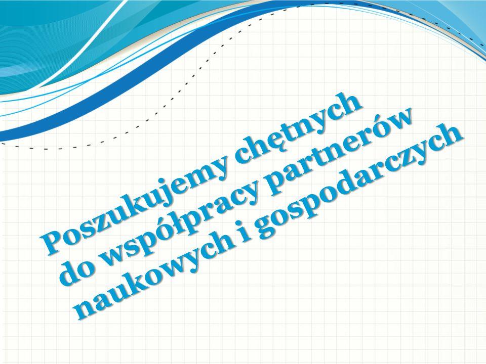 Poszukujemy chętnych do współpracy partnerów naukowych i gospodarczych