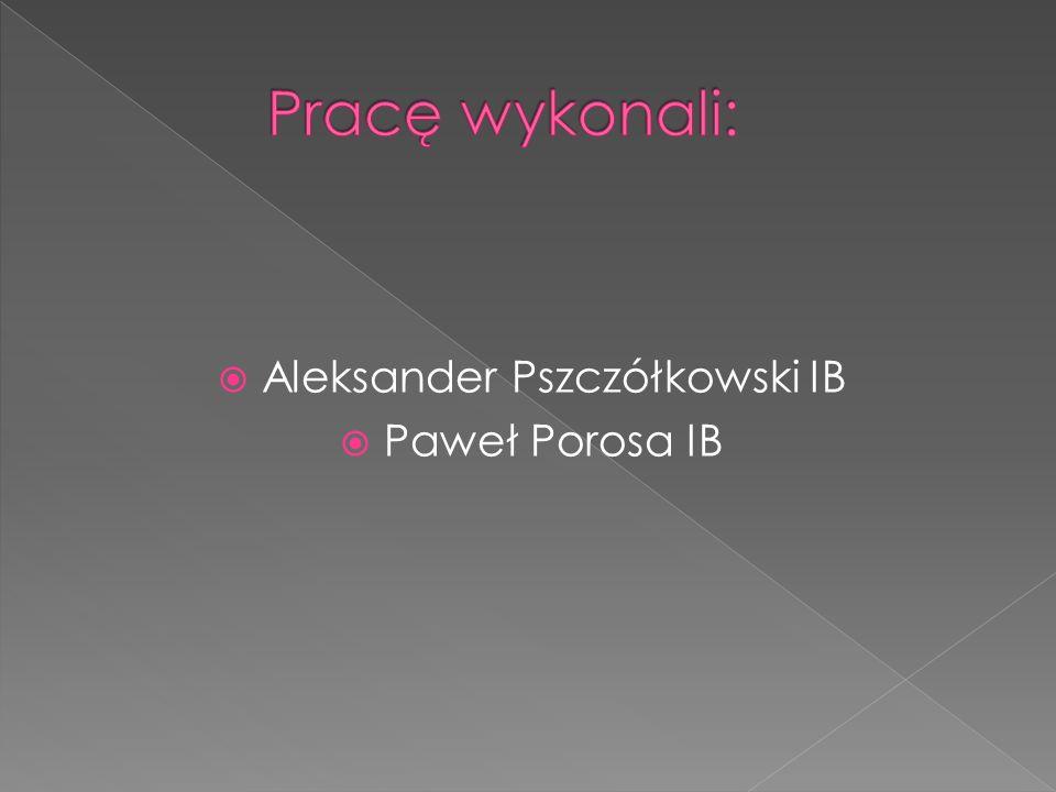 Aleksander Pszczółkowski IB