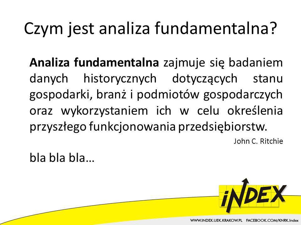 Czym jest analiza fundamentalna