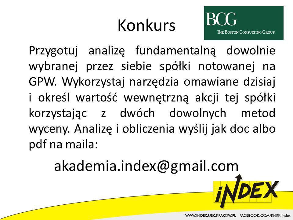 Konkurs akademia.index@gmail.com