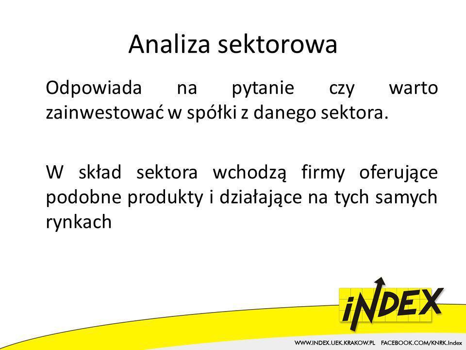 Analiza sektorowa