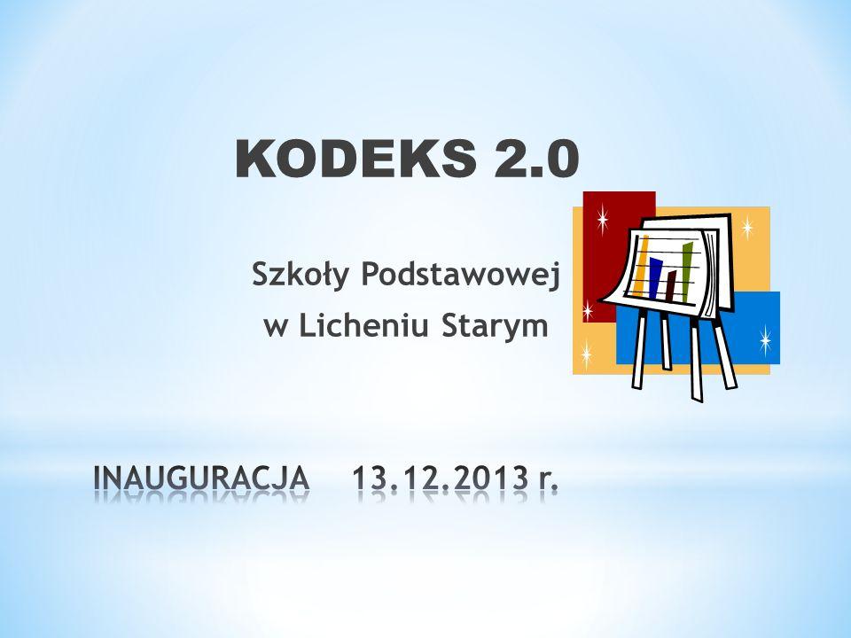 KODEKS 2.0 Szkoły Podstawowej w Licheniu Starym