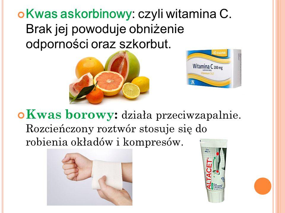 Kwas askorbinowy: czyli witamina C
