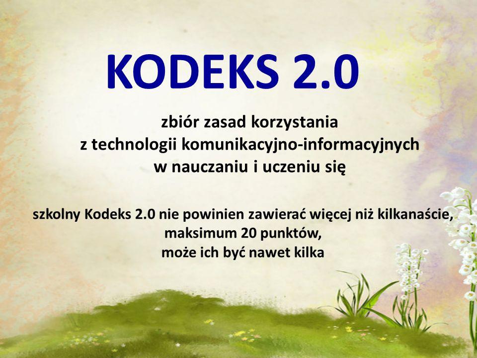 KODEKS 2.0 zbiór zasad korzystania