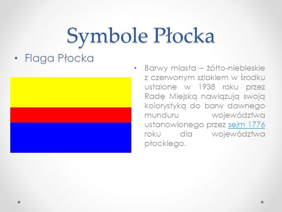 Symbole Płocka Flaga Płocka