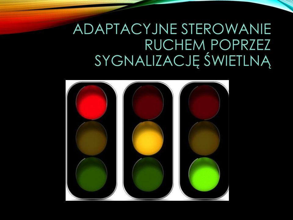adaptacyjne sterowanie ruchem poprzez sygnalizację świetlną