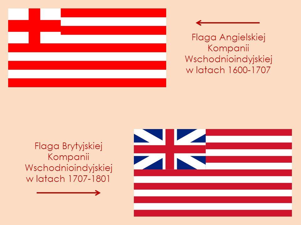 Flaga Angielskiej Kompanii Wschodnioindyjskiej w latach 1600-1707