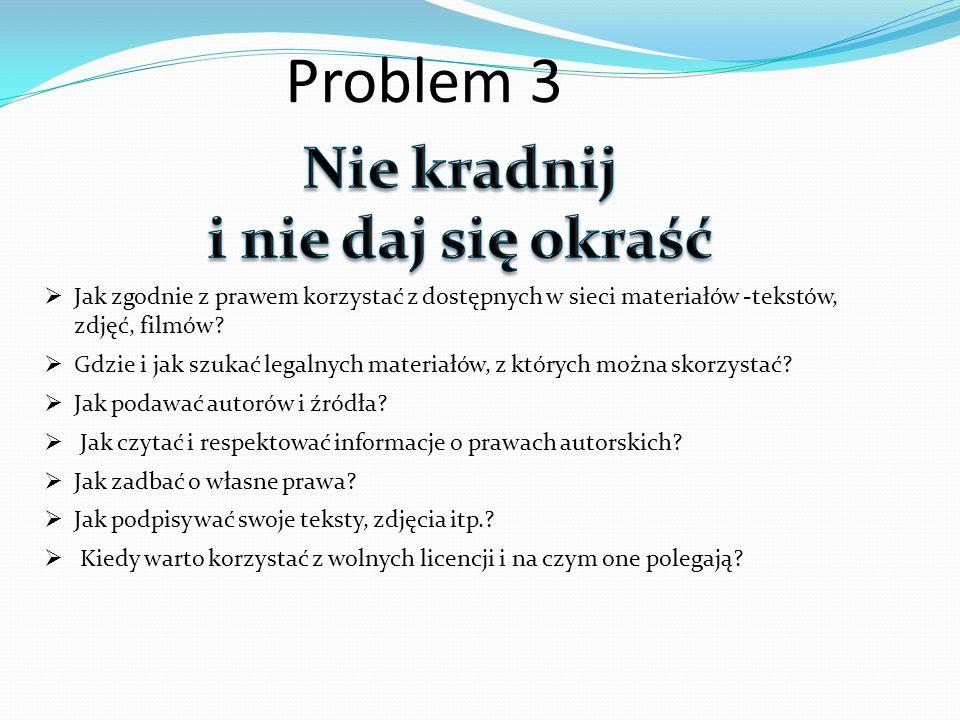 Problem 3 Nie kradnij i nie daj się okraść