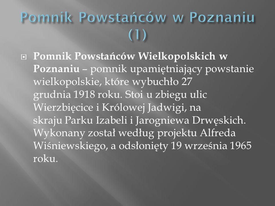 Pomnik Powstańców w Poznaniu (1)