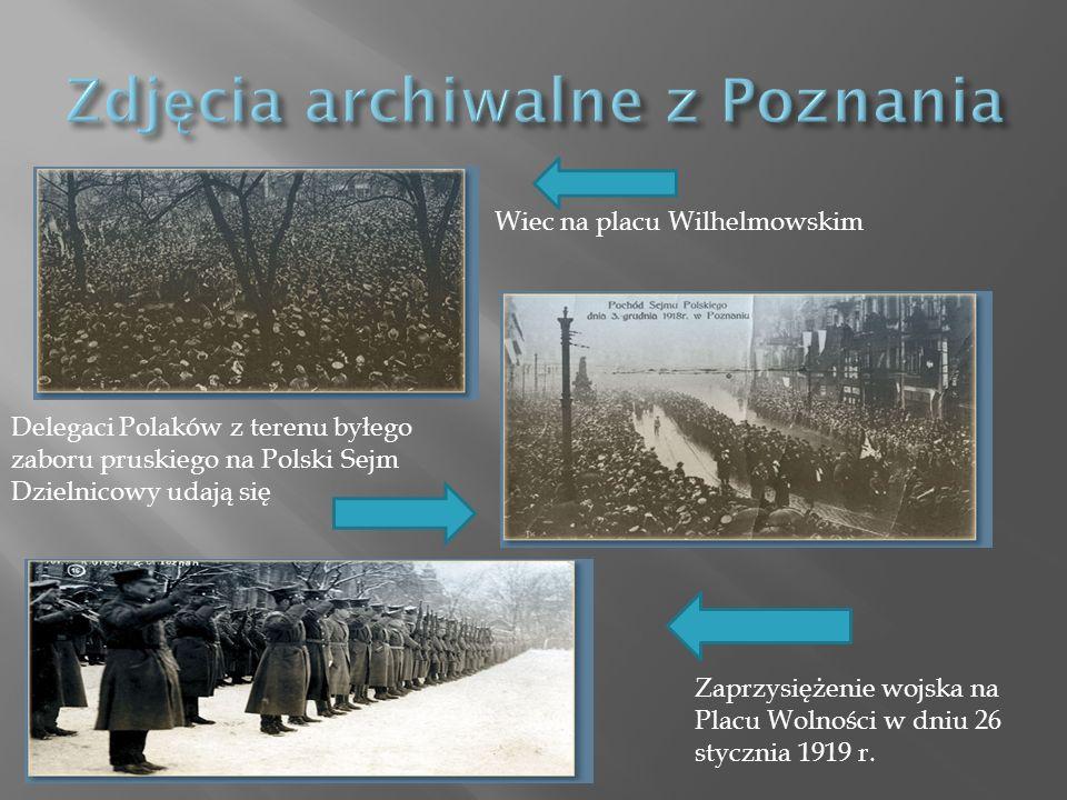 Zdjęcia archiwalne z Poznania