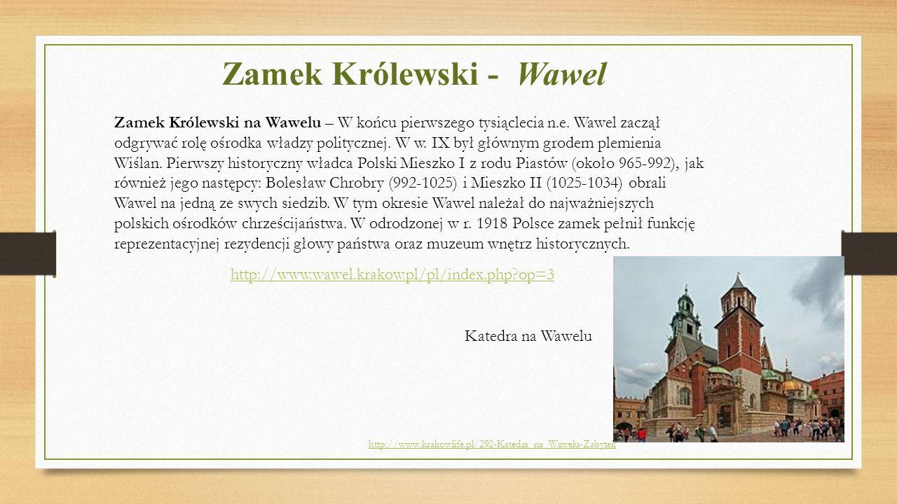 Zamek Królewski - Wawel