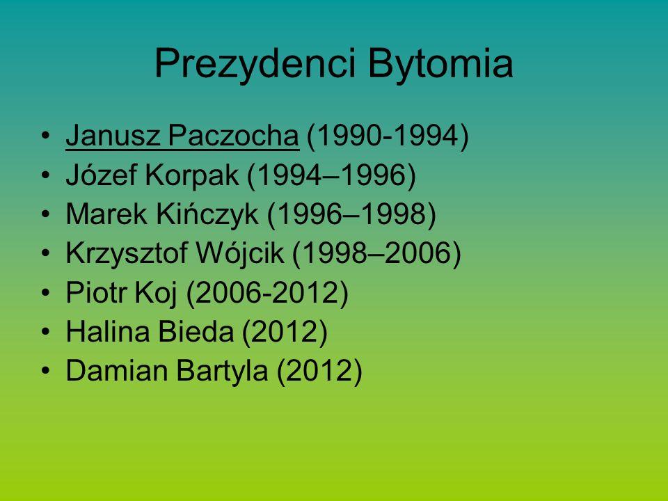 Prezydenci Bytomia Janusz Paczocha (1990-1994)