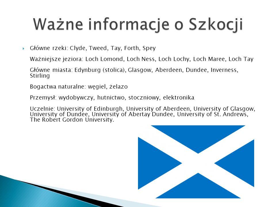 Ważne informacje o Szkocji