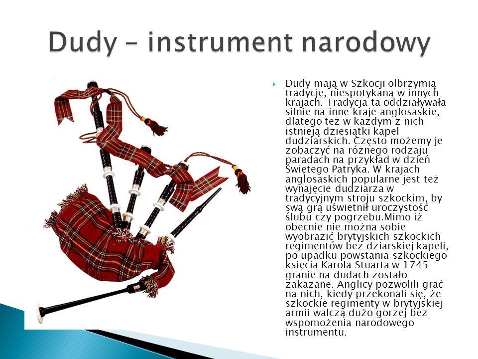 Dudy – instrument narodowy