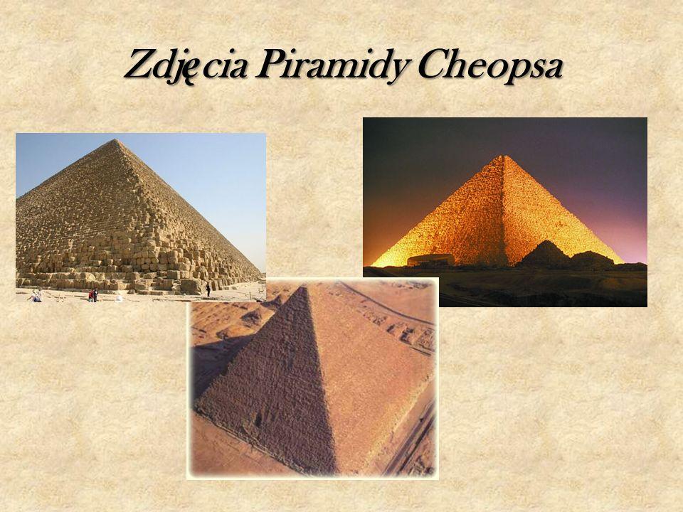 Zdjęcia Piramidy Cheopsa
