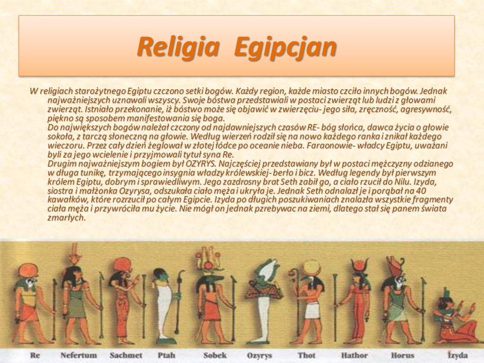 Religia Egipcjan