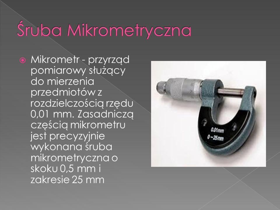 Śruba Mikrometryczna