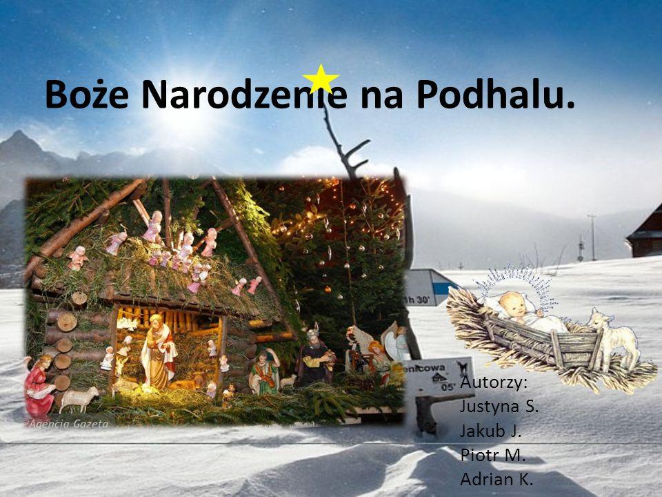 Boże Narodzenie na Podhalu.