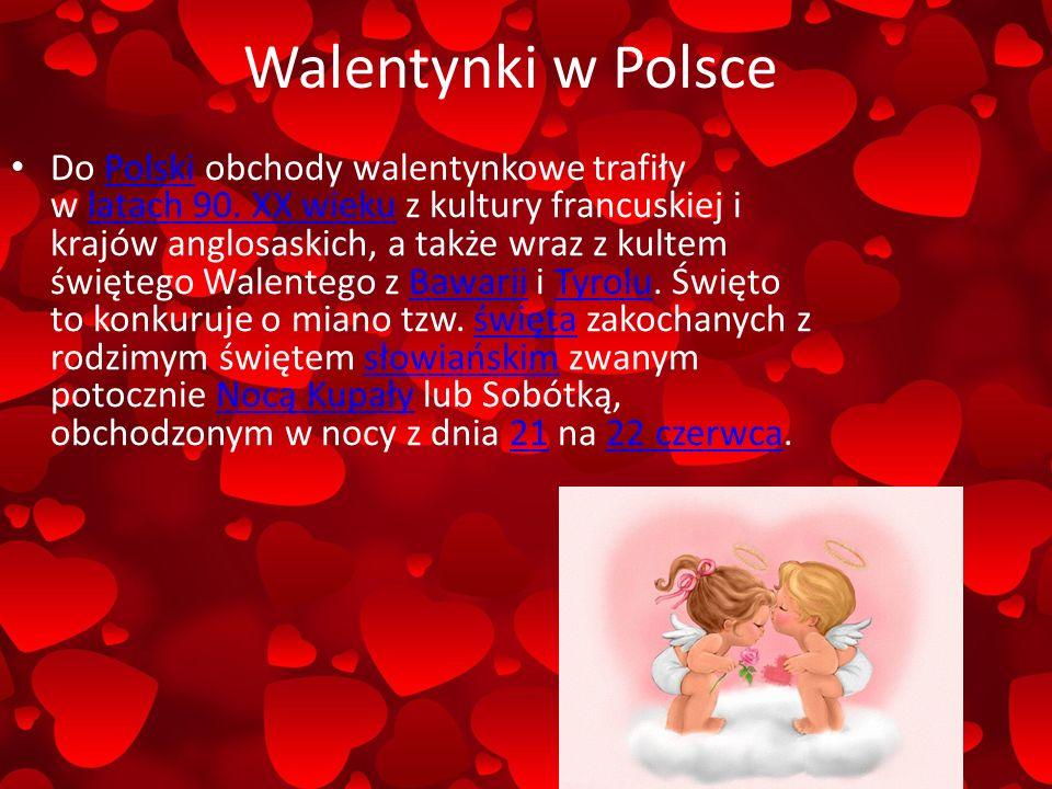 Walentynki w Polsce