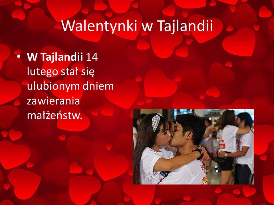 Walentynki w Tajlandii