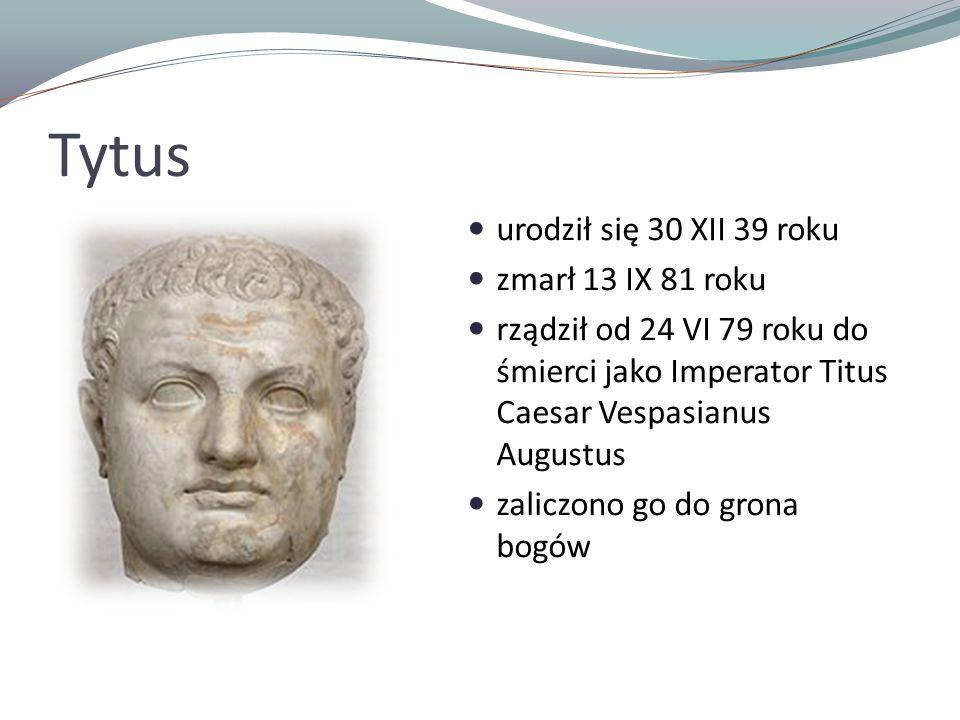 Tytus urodził się 30 XII 39 roku zmarł 13 IX 81 roku