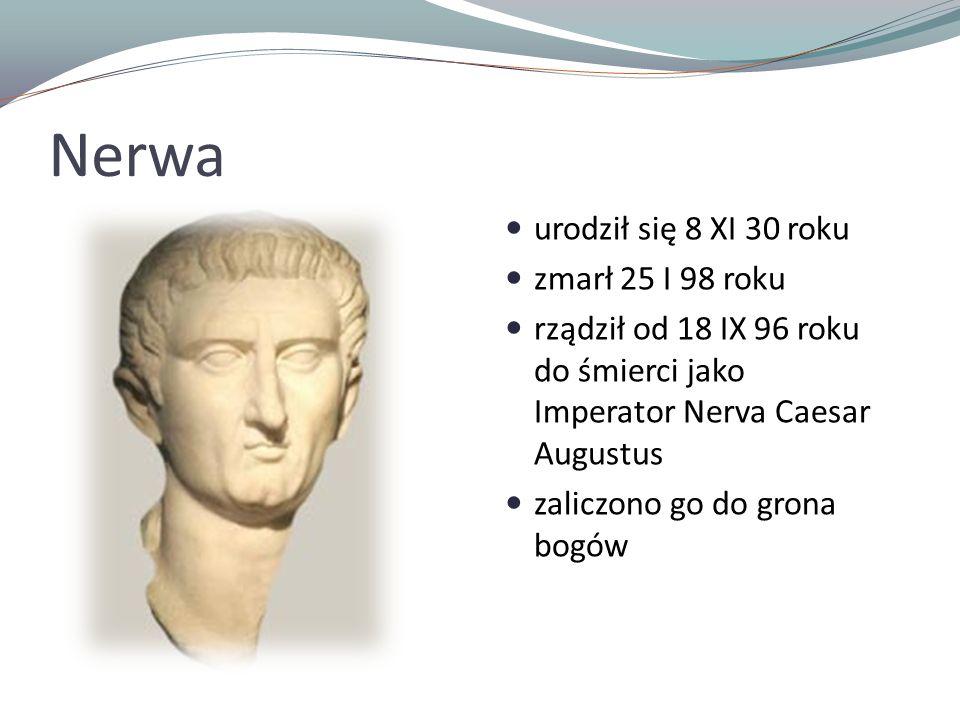Nerwa urodził się 8 XI 30 roku zmarł 25 I 98 roku