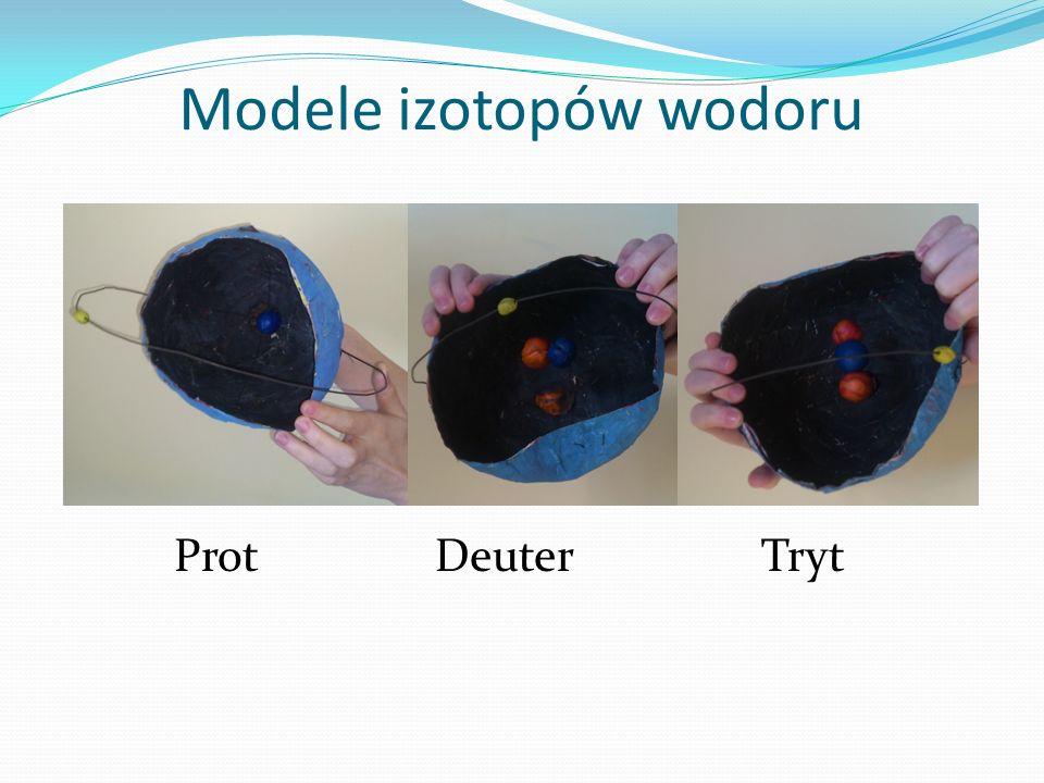 Modele izotopów wodoru