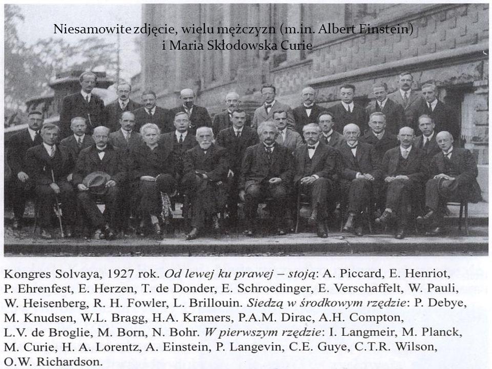 Niesamowite zdjęcie, wielu mężczyzn (m.in. Albert Einstein)