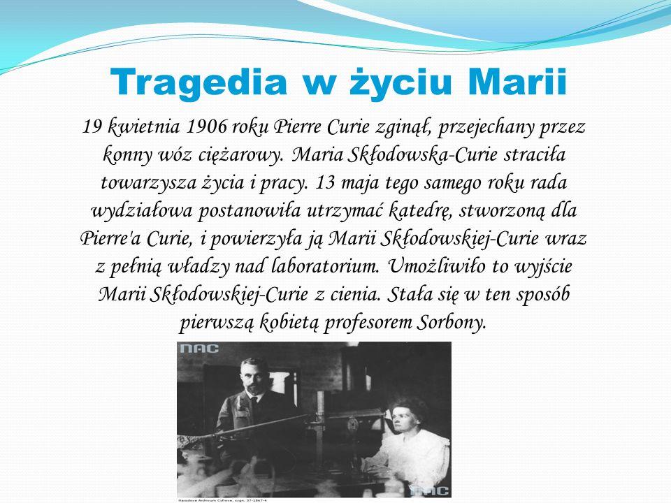 Tragedia w życiu Marii
