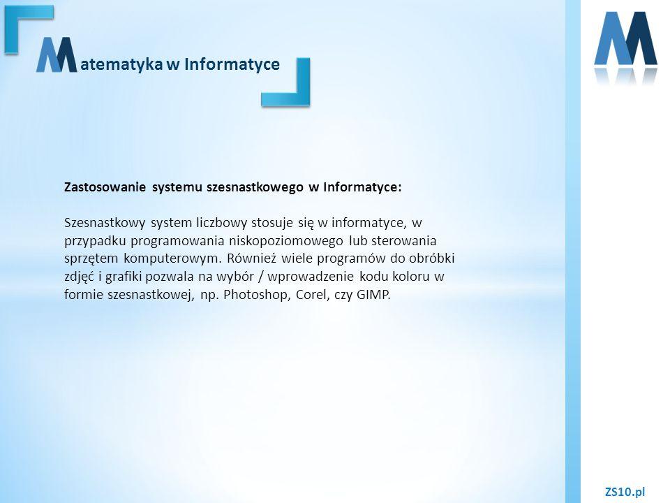 atematyka w Informatyce
