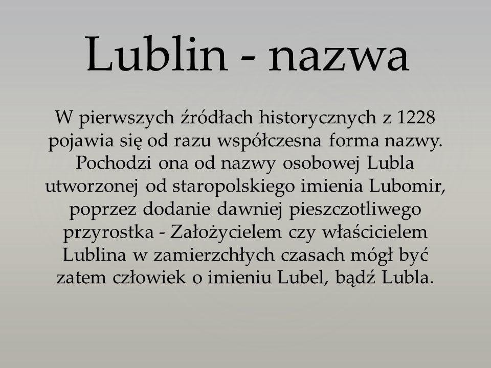 Lublin - nazwa