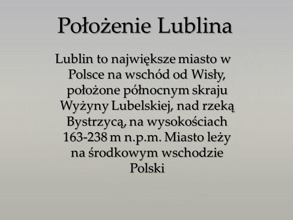Położenie Lublina