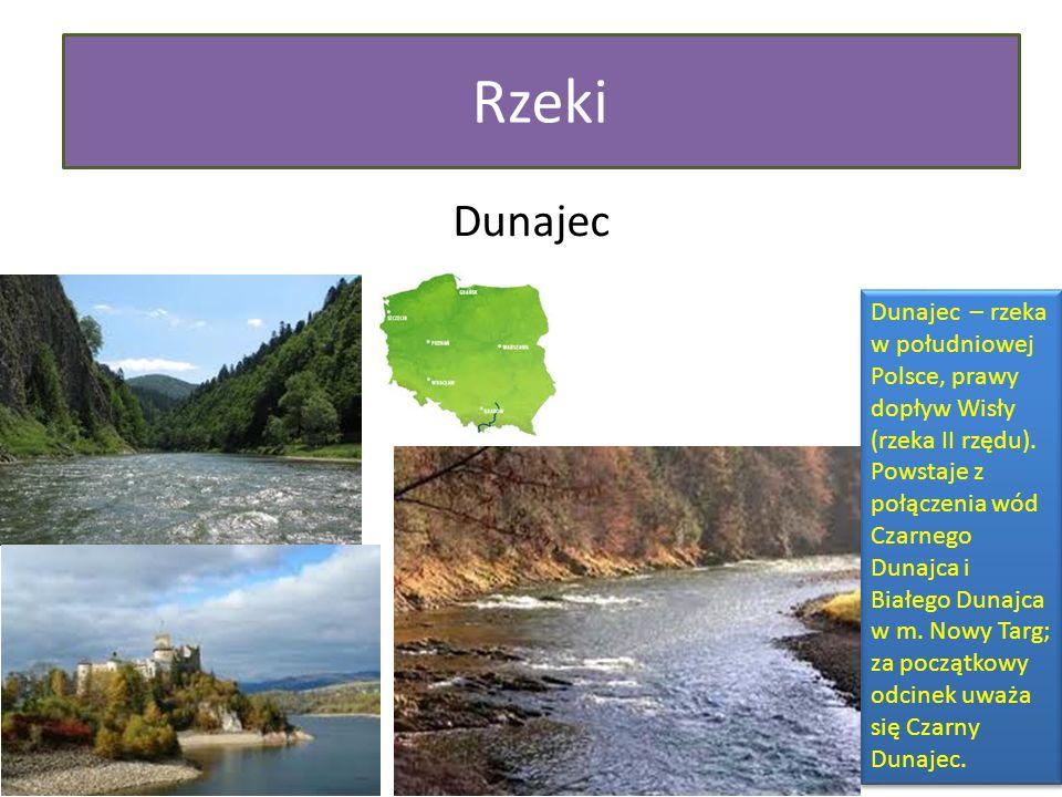 Rzeki Dunajec.
