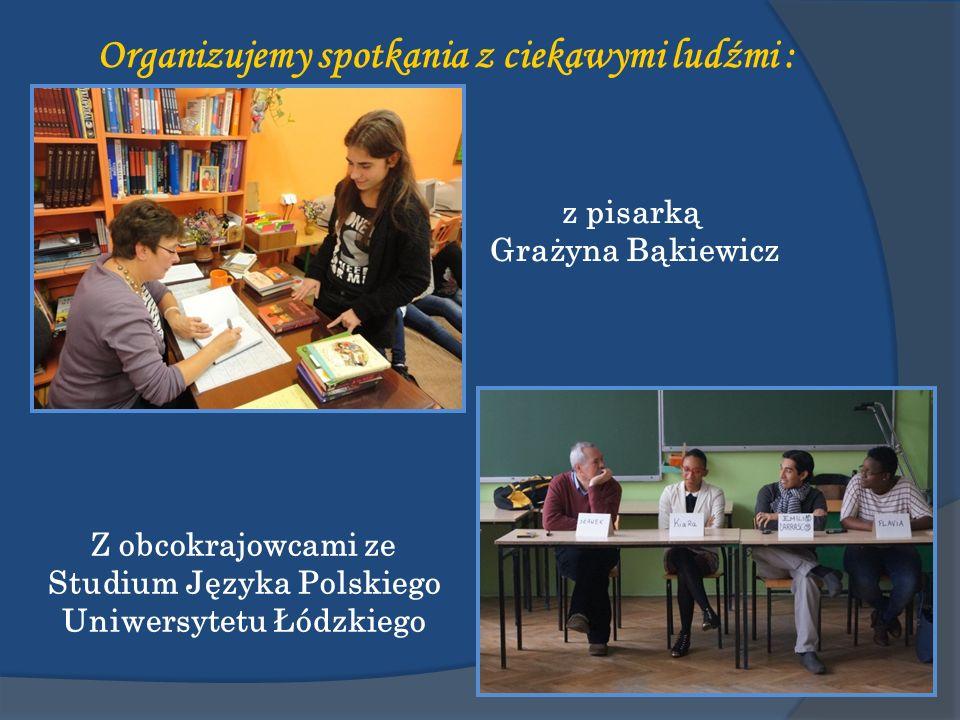 Z obcokrajowcami ze Studium Języka Polskiego Uniwersytetu Łódzkiego
