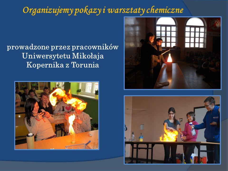 Organizujemy pokazy i warsztaty chemiczne
