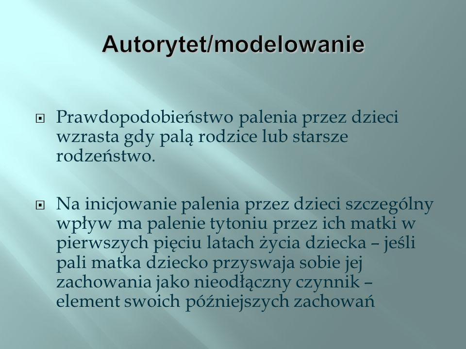 Autorytet/modelowanie